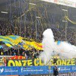 Voetbal Leeuwarden Eredivisie 2013/2014 Cambuur - SC Heerenveen: